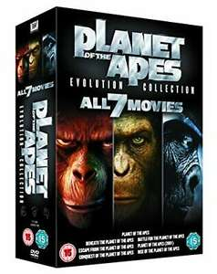 Pre-Owned - Planet of the Apes: Evolution Collection [DVD] - £5.17 @ worldofbooks08 / eBay