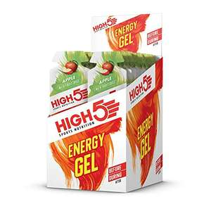 HIGH5 Energy Gel - Natural Fruit Juice - Apple (20 x 40g Sachets) £10.58 on S+S / £11.75 Prime / £16.24 Non Prime at Amazon