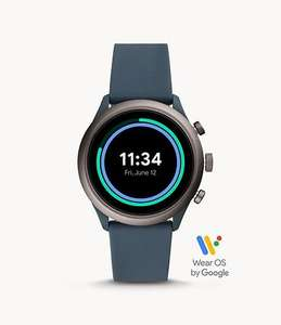 Fossil Sport Smartwatch Smoky Blue Silicone £89 @ Fossil
