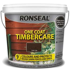 Ronseal timbercare 9ltr £5.99 @ Home bargains Retail