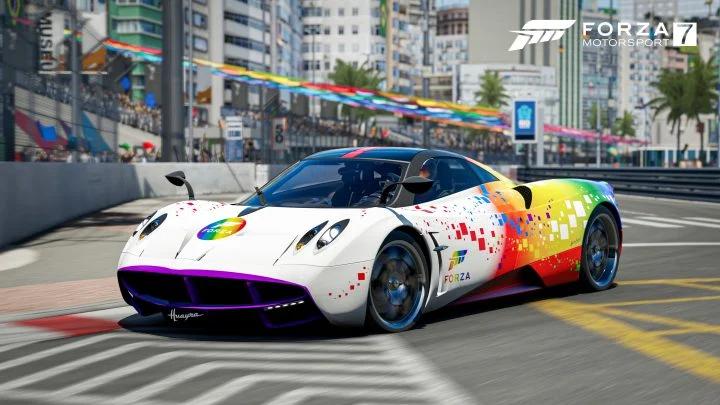 Free Pagani Huayra [Forza Rainbow Edition] for Forza Horizon 4 / Forza Motorsport 7 [Xbox One/PC]