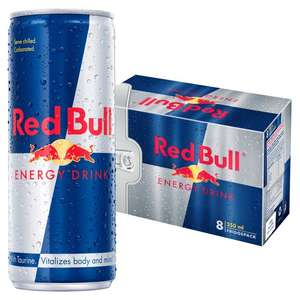 8 x 250ml pack red bull energy drink - £4.20 Instore @ Tesco Express (Wigan)