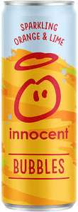 4 for £1.00 innocent bubbles orange and lime cans @ Heron Foods (Birmingham)