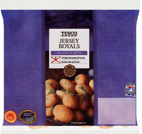 Baby Jersey Royal Potatoes 450G - 49p @ Tesco