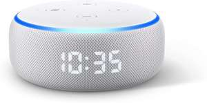 Echo Dot (3rd generation) | Smart speaker with clock and Alexa, Sandstone £34 delivered @ AO