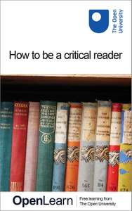 How to be a critical reader. Free for Kindle @ Amazon
