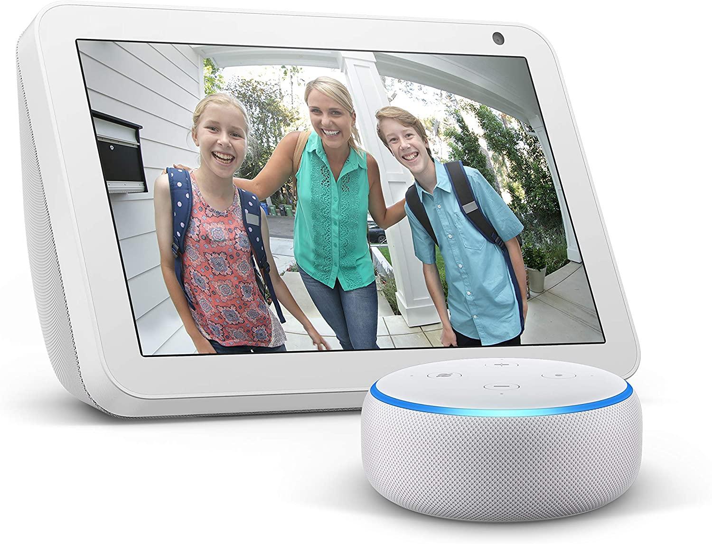 Echo Show 8 + Echo Dot (3rd Gen) £89.99 @ Amazon