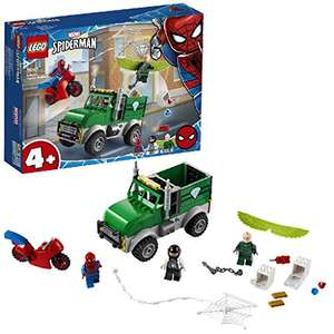 LEGO 76147 Super Heroes Marvel Spider-Man Vulture's Trucker Robbery Playset for Preschool Kids 4+ Year Old £15 (+£4.49 non-prime) @ Amazon