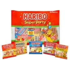 Haribo Super Party Fun Pack 1040g Reduced - £1.75 Tesco