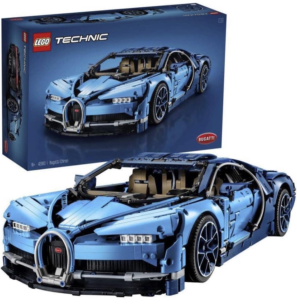 LEGO 42083 Technic Bugatti Chiron Super Sports Car Exclusive Collectible Model, Advanced Building Set £250 @ Amazon