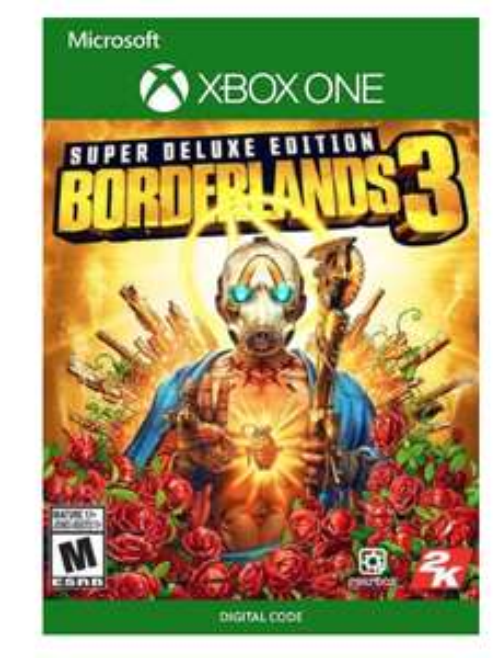 Xbox one borderlands 3 super deluxe edition £45.99 @ CDKeys