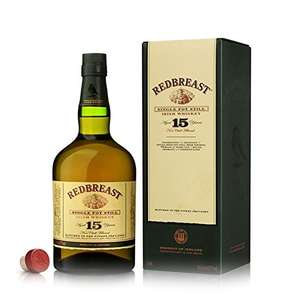Redbreast 15 Year Old Irish Whiskey 70cl @ Amazon with Free Deliverey - £62.99
