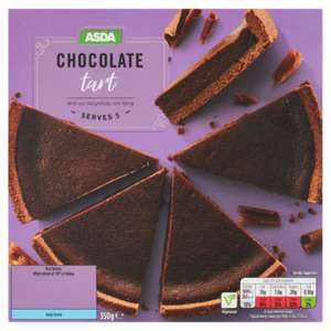 ASDA Chocolate Tart 350g - £1.00