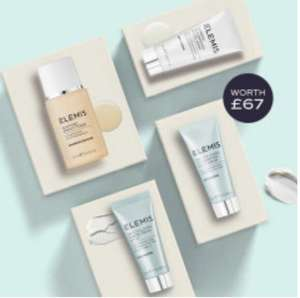 Free Elemis 4 piece gift worth £67 with a skincare purchase + free travel size sample with orders from £25 - free delivery @ Elemis Shop