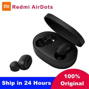 Xiaomi Redmi Airdots TWS Bluetooth 5.0 wireless earphones & charging case for £13.05 using coupon @ AliExpress Deals / MI Intelligent Store