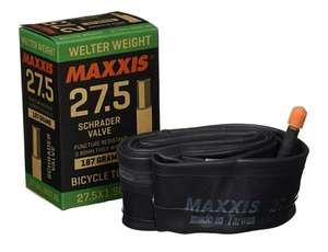 """Maxxis Welterweight 27.5"""" 1.9-2.35"""" Schrader Inner Tube £2.99 @ Amazon (+£4.49 Non-prime)"""