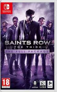 Nintendo Switch Saints Row®: The Third™ - The Full Package - £17.49 / Saints Row IV®: Re-Elected™ - £23.44 at Nintendo eShop