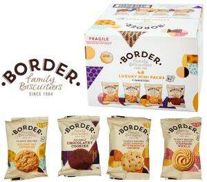 Border Biscuits Luxury Mini Packs - Pack of 48 - £5.69 / Alpen Swiss Style Muesli 1.1kg - 2 packs £3.99 / Disaronno 70cl £13.78 @ Costco