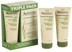 Aveeno Daily Moisturing Lotion 3 x 200ml for £5.98 @ Costco
