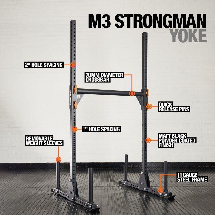 Mirafit M3 Strongman Yoke £284.90 @ Mirafit