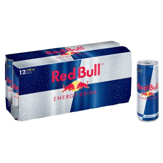 Red Bull Energy Drink 12 X 250Ml - £9.50 at Tesco