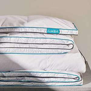 Simba Hybrid Super King Duvet with OUTLAST (All year round) £80 - Sold by Simba Sleep and Fulfilled by Amazon.