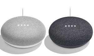 Google Home Mini Smart Speaker - Chalk/Charcoal (1st gen) - £19.79 delivered with code at MyMemory
