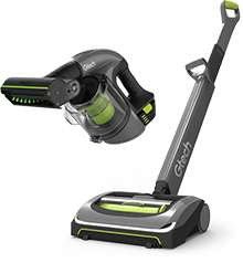 Gtech AirRam and Multi + Car accessory kit - Two lightweight cordless vacuums for £229.98 using code TV84 at Gtech