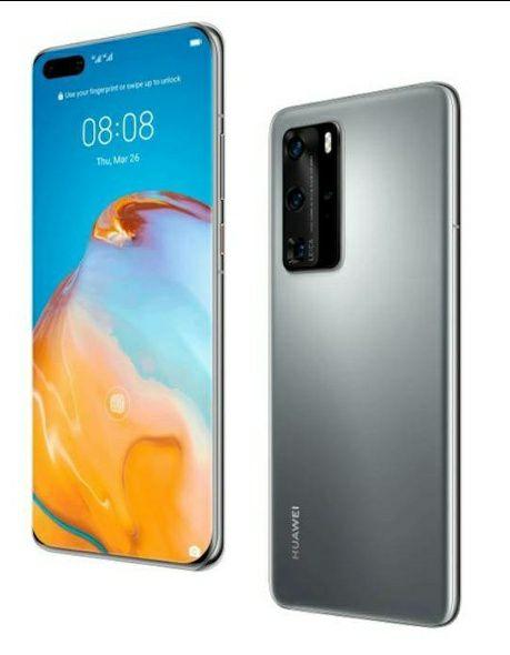 Huawei P40 5G 128GB 6GB RAM Dual SIM (Unlocked for all UK networks) - Silver Frost / Black Smartphone - £499 @ Wowcamera