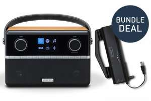 Stream 94i Bundle - DAB+ Smart Radio with free battery pack £199.99 at Roberts Radio, What Hi-Fi? Awards 2019 winner.