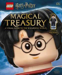 LEGO Harry Potter Magical Treasury Book - with exclusive Tom Riddle minifigure (pre-order) - £12.65 delivered @ A Great Read