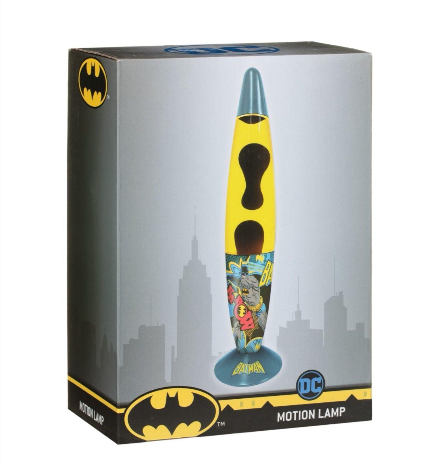 Marvel/ DC Superhero Lava Lamp Batman/Spiderman/Hulk £1 @ B&M instore (Birmingham Fordrough)