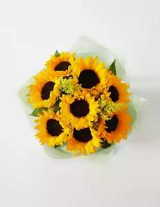 £5 off Sunflower Gift Bag Flowers at Marks & Spencer (plus Free next day/nominated day delivery) - £25