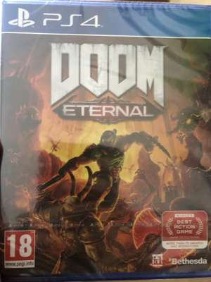 Doom Eternal £20 when buying The Last of Us Part II (PS4) for £54.99 @ GAME