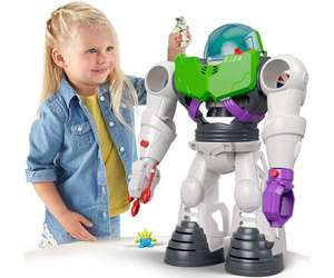Fisher-Price Imaginext Disney Toy Story Buzz Lightyear Robot ( With removable spaceship and launch pad) £33.50 @ Argos (Click & Collect)