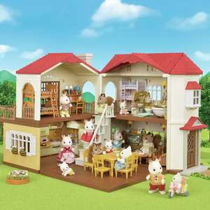 Sylvanian Families Red Roof Country Home Playset With Working Lights £35 Using Click & Collect / £38.95 Delivered @ Argos