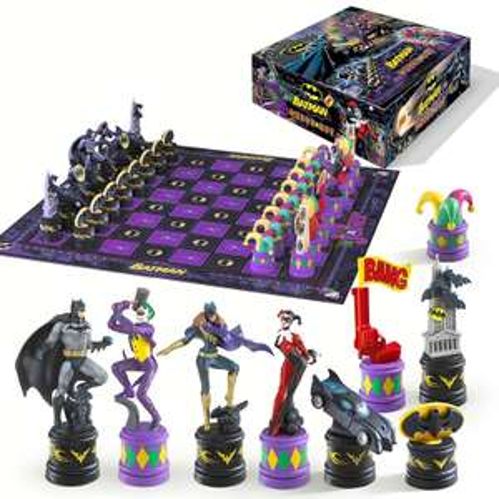 DC Comics The Dark Knight Batman Chess Set for £25.98 delivered using code @ Zavvi
