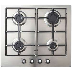 Cooke & Lewis Gasuit4 Gas Hob Stainless Steel 83 X 580mm£59.99 @ Screwfix