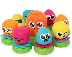 TOMY Toomies Octopals Number Sorting Baby Bath Toy £7.98 prime / £12.47 non prime @ Amazon