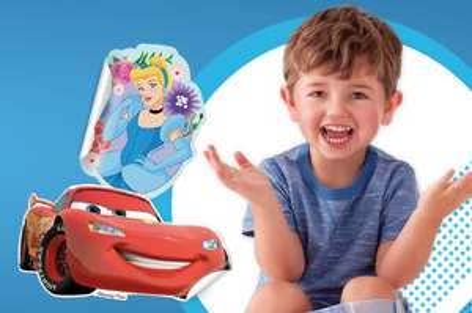 Free Disney stickers from Huggies