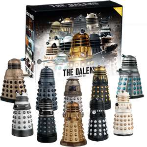 20 different Daleks for £90 from Eaglemoss for Fathers day - buy 1 get 50% off other