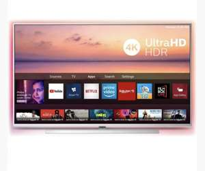 """(USED GRADE A) 55"""" Philips 55PUS6814/12 Ambilight 4K HDR Android Smart LED TV £399.99 @ ElectronicWorldTV"""