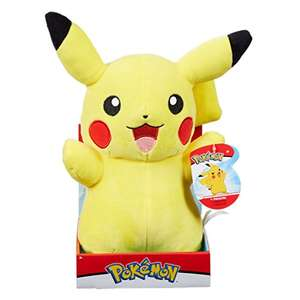 Pokemon Pikachu Plush, 12-Inch - £10 Prime / £14.49 non Prime @ Amazon