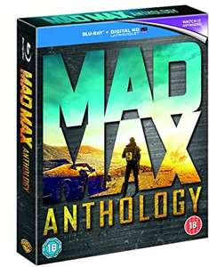 Mad Max Anthology Blu Ray - £12.74 delivered using code @ Warner Bros Shop