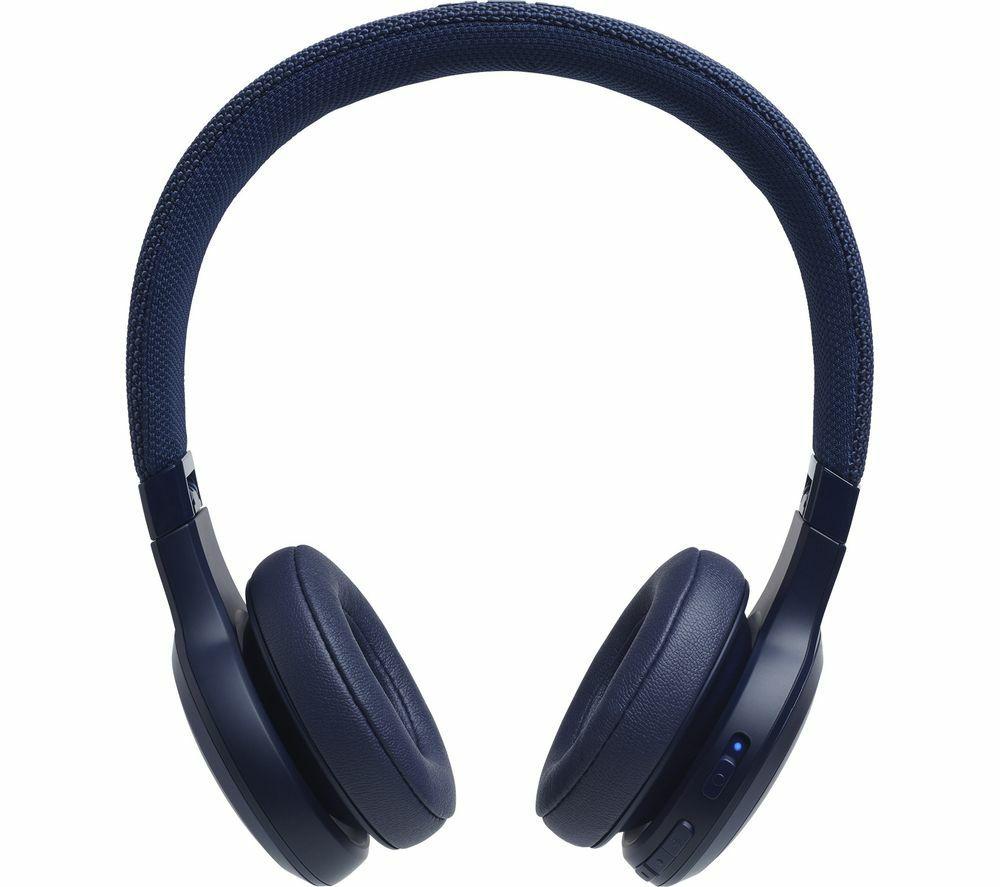 JBL LIVE 400BT Wireless Bluetooth Headphones - Blue and 6 Months Free Spotify Premium - £49.99 (12.75% Topcashback) @ Currys PC World