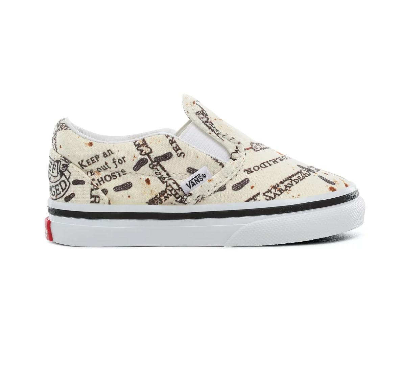 Toddler Vans X Harry Potter™ Marauders Map Slip-On Shoes (1-4 years) - £16.50 delivered @ Vans Shop