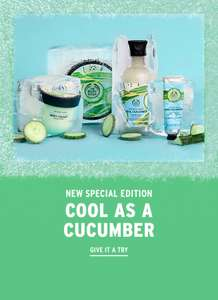 20% off at The Body Shop (No minimum spend) - £2.45 Delivery / Free over £30 using code