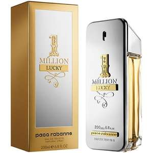 PACO RABANNE 1 Million Lucky Eau de Toilette for him 200ml @ 44.09 delivered with discount code @ ThePerfumeShop