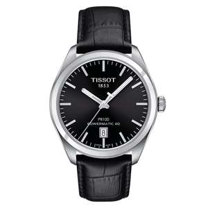 Tissot T-Classic PR100 Powermatic 80 Ref T101.407.16.051.00 delivered @ Amazon US via Amazon UK