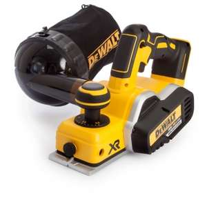 "DeWalt DCP580N 18V XR Cordless Brushless Planer + ""Dust Bag"" at UK Planet Tools for £141.50"